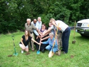Lorie's House Groundbreaking