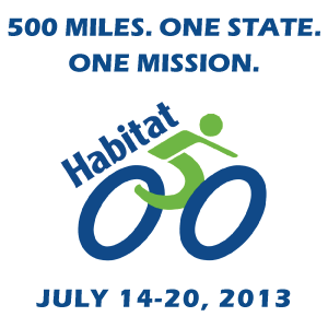 Habitat 500 - 500 Miles. One State. One Mission.