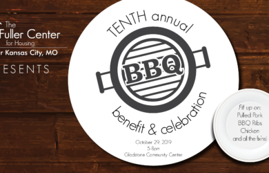 Save the Date! TENTH Annual Fuller Center BBQ, Benefit & Celebration