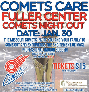 COMET CARES FULLER CENTER COMETS NIGHT OUT