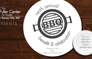 Save the Date! 9th Annual Fuller Center BBQ, Benefit & Celebration