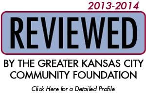 Reviewed by the Greater Kansas City Community Foundation 2013-2014